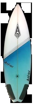 Action Surf Shop - 2 Barrel Surfboard