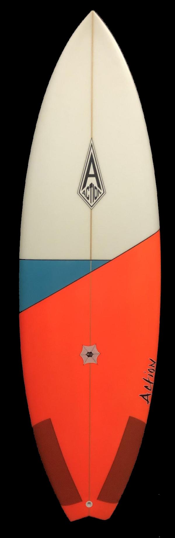 Action Surf Shop 4 Barrel Surfboard